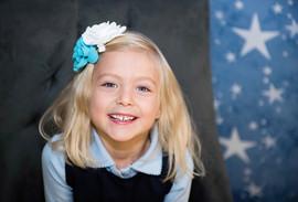 Girl Headshot, School Picture