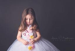 Girl in Studio - Portrait