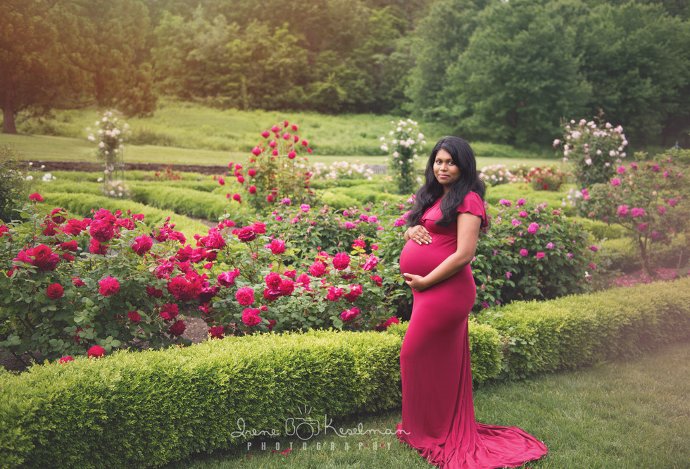 Spring Floral Maternity Session