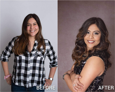 Before & After Styling