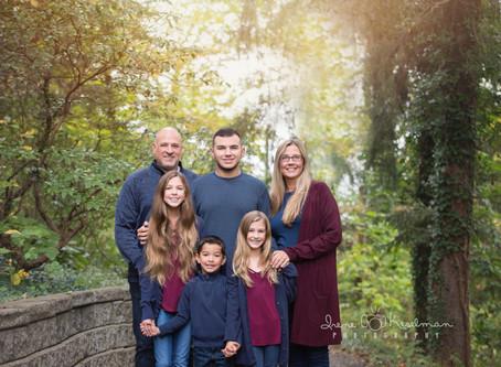 HOLMDEL FAMILY PHOTOGRAPHER | Deep Cut Gardens - Middletown, NJ