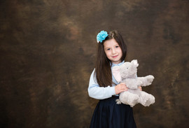 School Picture, Girls with Toy