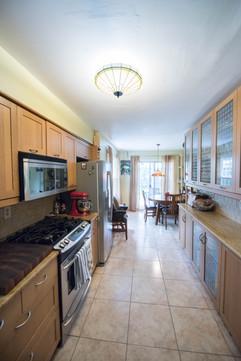 Narrow Kitchen