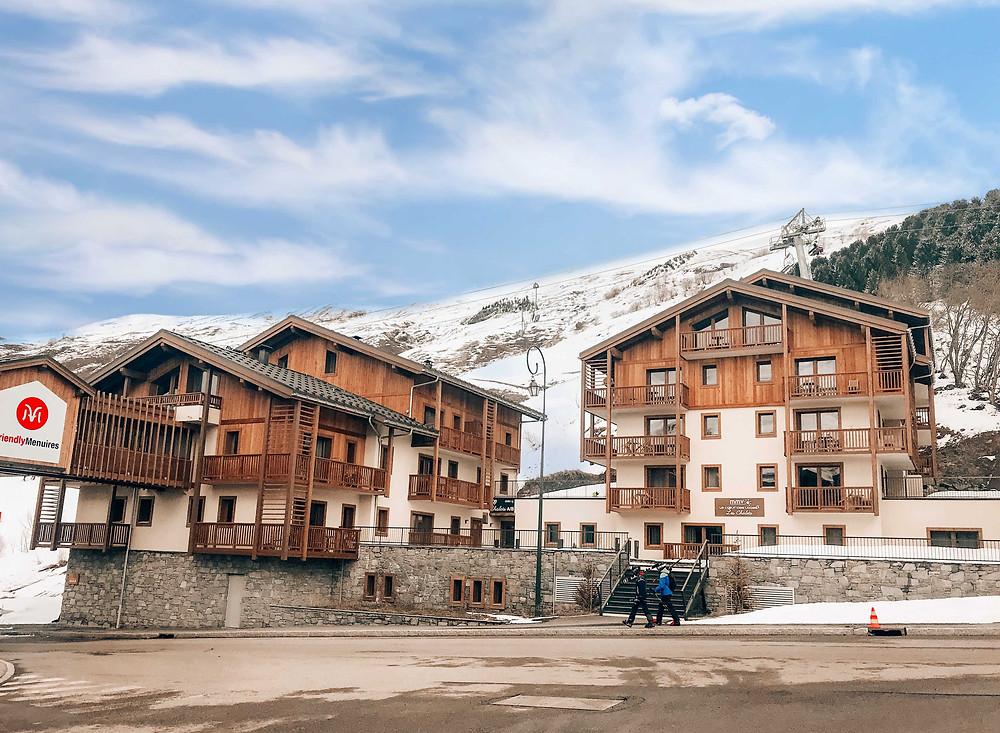 skiën-in-Les-Menuires-Frankrijk