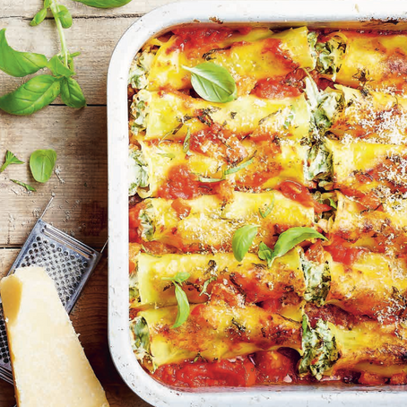 Recept: Cannelloni met ricotta en spinazie