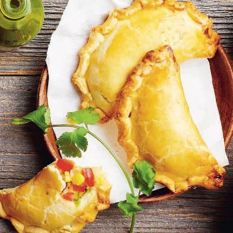 Recept: Empanada's met koriander-avocadodip