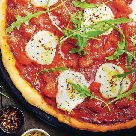 Recept: Italiaanse Pizza margherita met rucola
