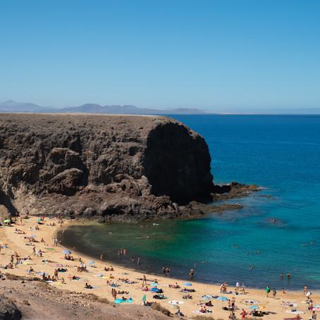 De 7 mooiste stranden van Lanzarote, Canarische Eilanden