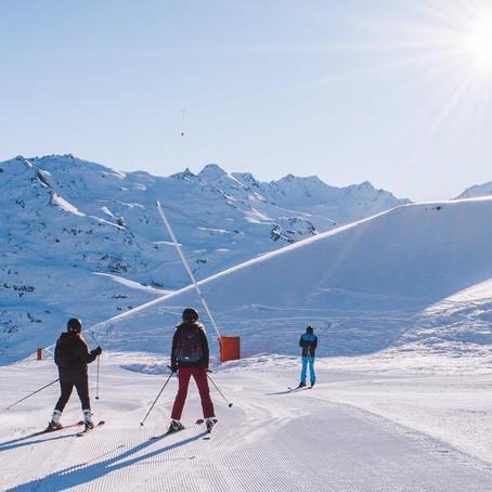Het skigebied van Les Portes du Soleil