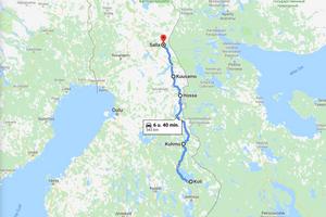 road trip door Oost Finland