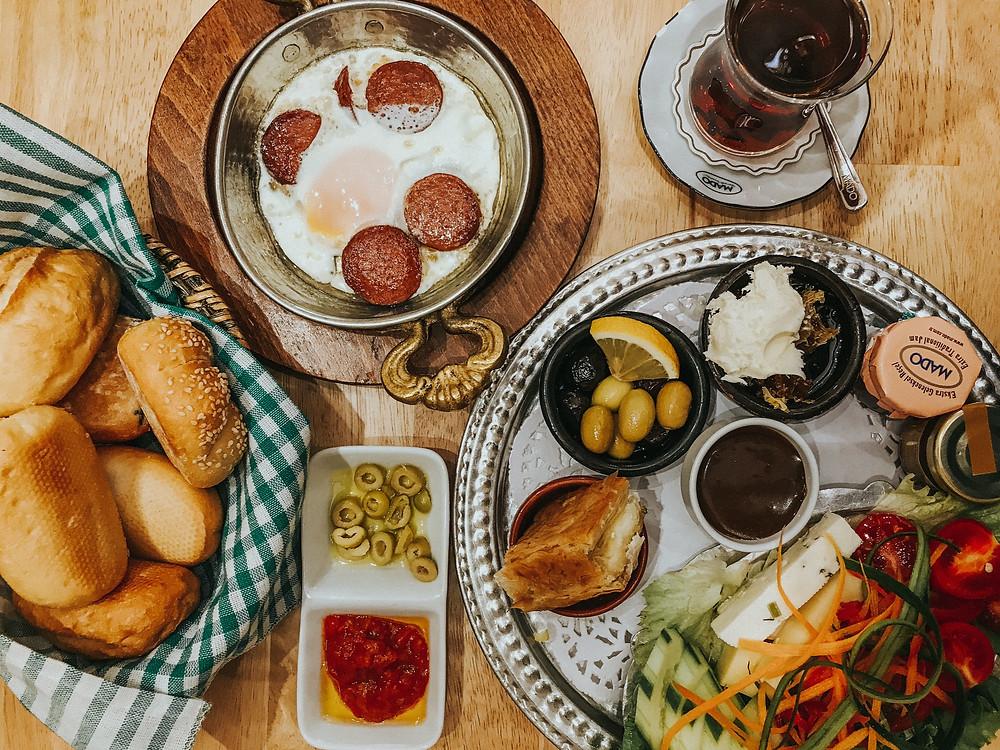 Vijf-vegetarische-traditionele -Turkse-keuken