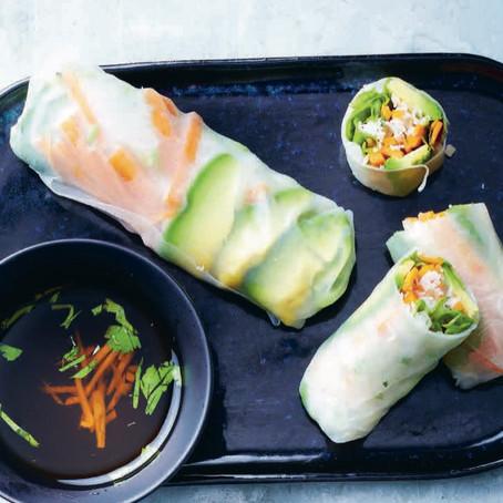 Recept: Aziatische spring rolls met groenten