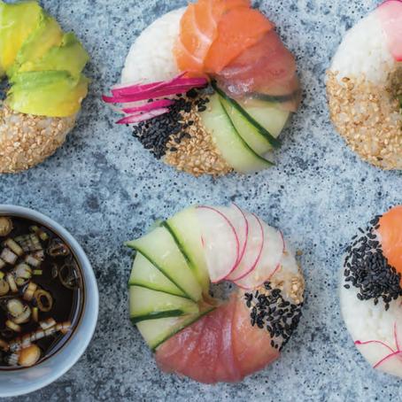 Recept: Japanse Sushi Donuts, zo maak je ze!