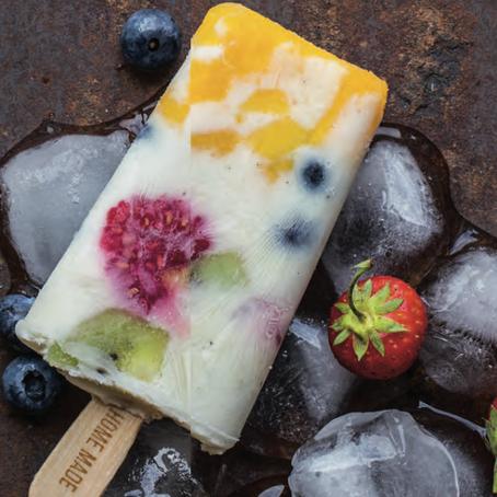 Recept: Zomerse ijslolly's met vers fruit of witte wijn