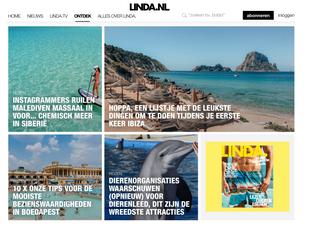 Linda Magazine. Reizen