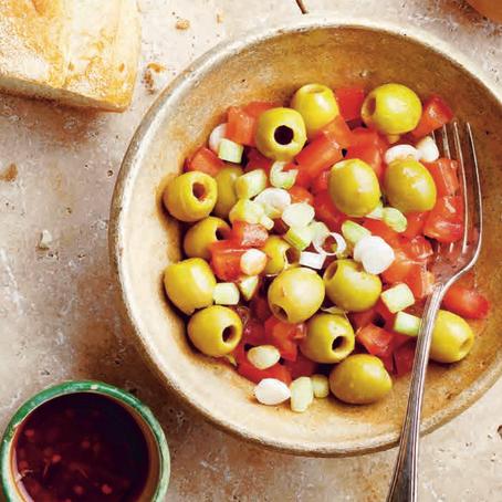 Recept: Syrische olijvensalade