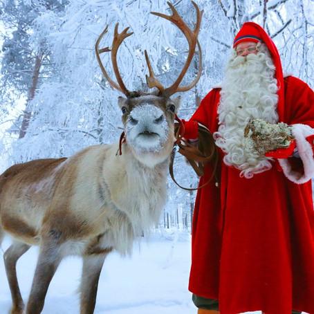 Op bezoek bij de kerstman in Fins Lapland