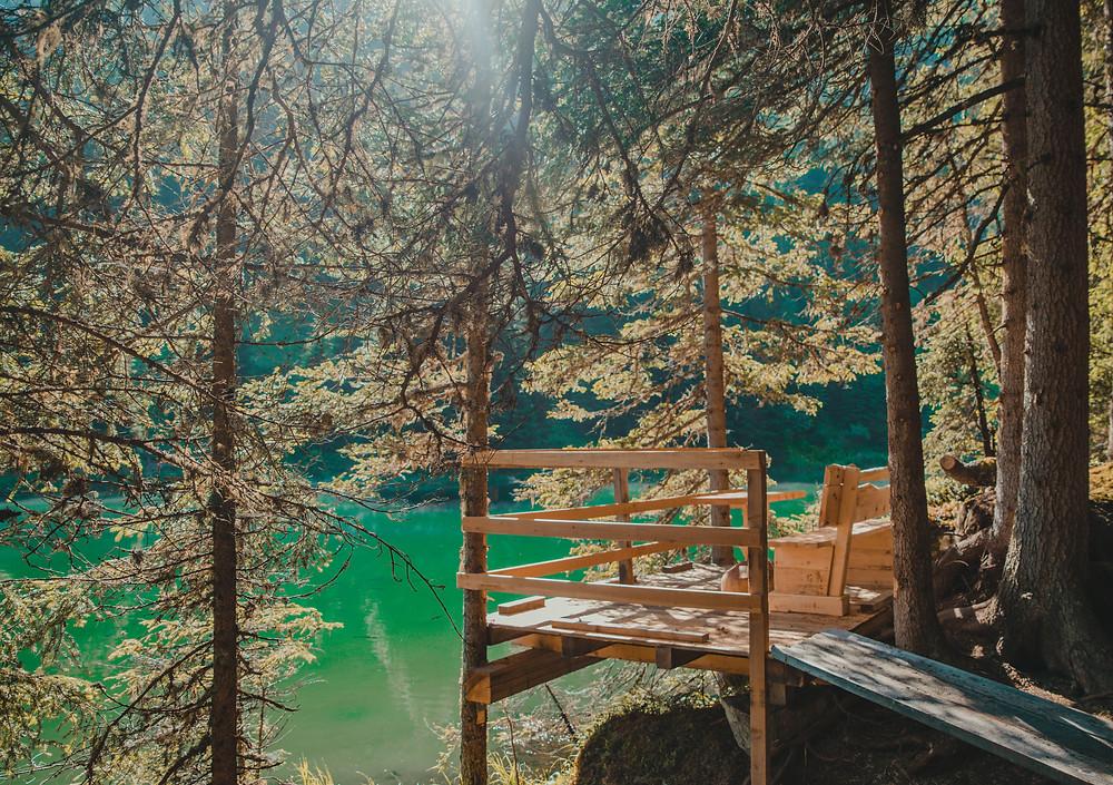 Schwarzwassersee-Oostenrijk