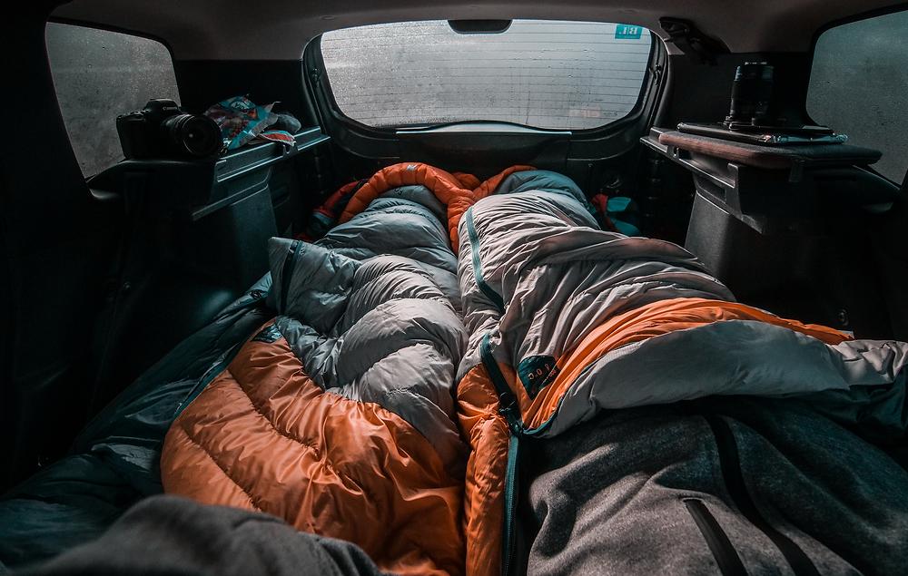 slaapzak-winter-kamperen
