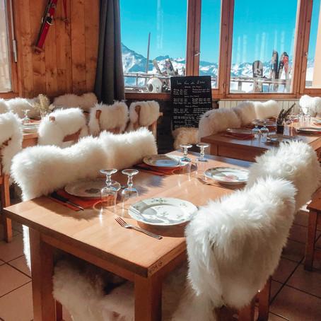 de 3 meest bijzondere restaurants van Les Menuires