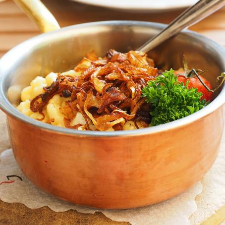 Recept :Tiroler Kasspatzln