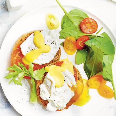 Recept: Eggs Benedict op Engelse muffins