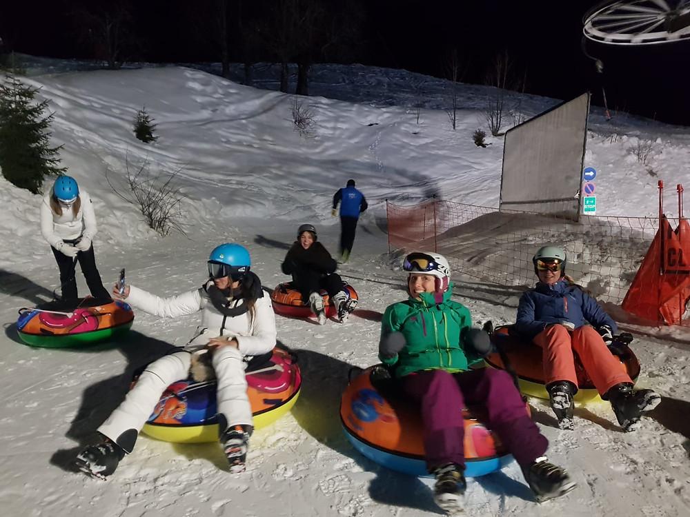 Wintersport-La-Clusaz-Frankrijk