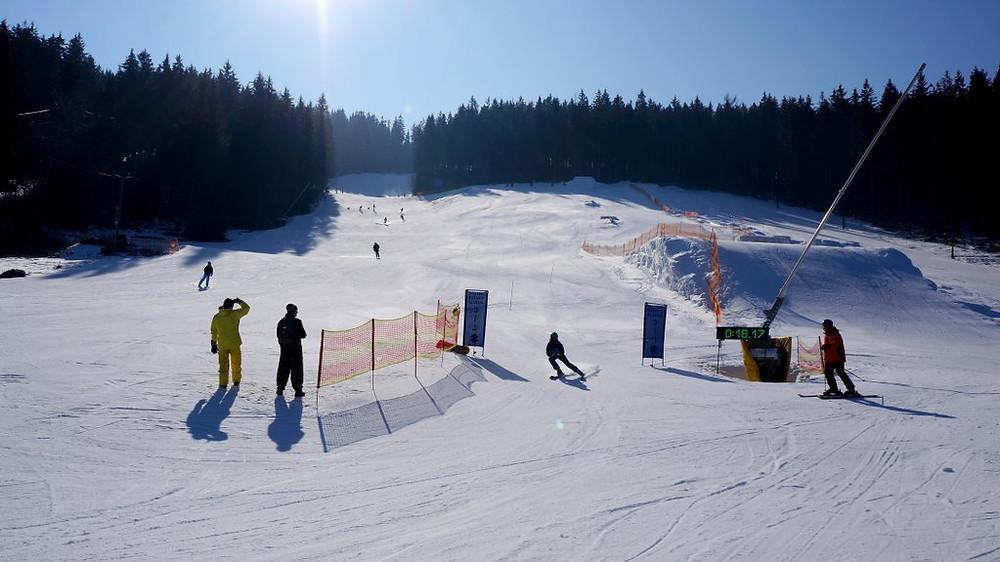 Skiën-Reuzengebergte-Tsjechië
