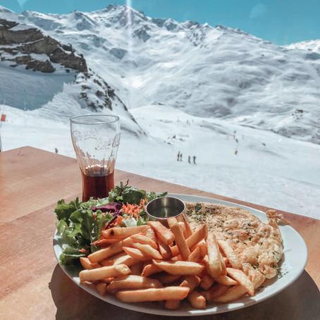 Wat eet je op de piste in Frankrijk