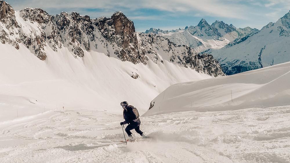 skiën in Charmonix