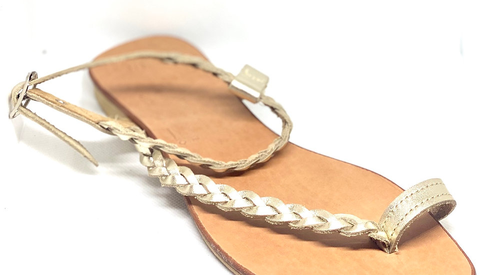 Nu-pieds IDRA Doré