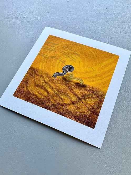 'TOO SOON' (Small 15x15cm)