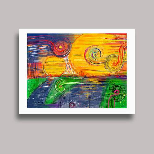 'Soon' - Artcard (DigiArt)