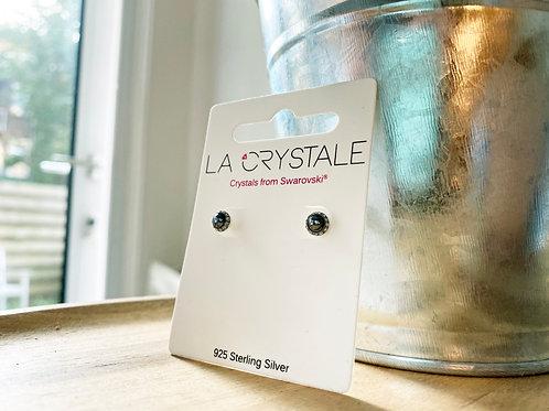 Oorstekers La Crystale (met Swarovski steentjes)