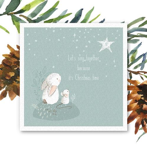 Kerstkaarten (5 stuks - incl. envelop)