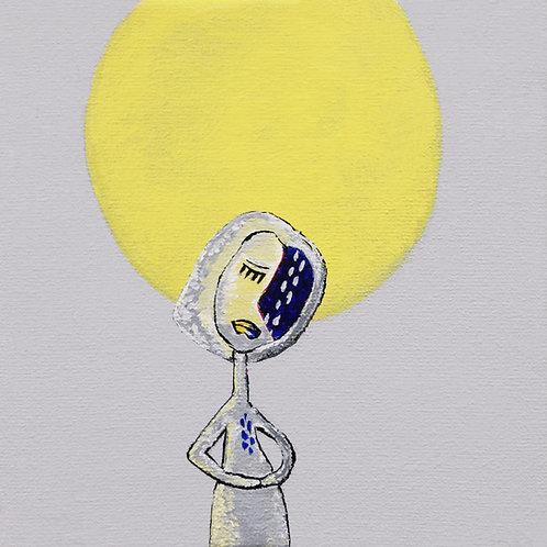 Mary to the Moon (giclée)