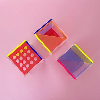 Acrylic Stationery Pots
