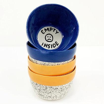 Empty Inside Bowls