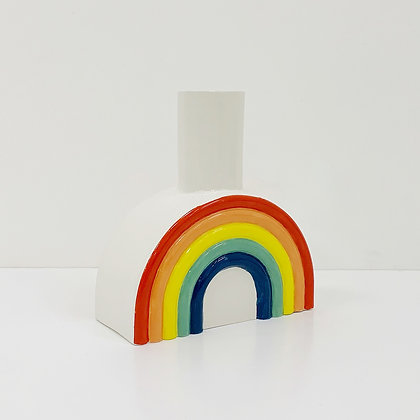 Rainbow Arched Vase