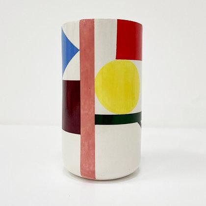 Open Barrel Vase 02