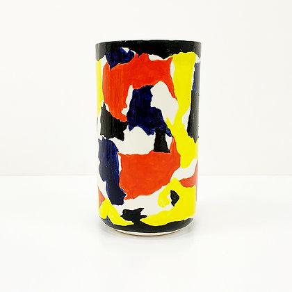 Open Barrel Vase 01