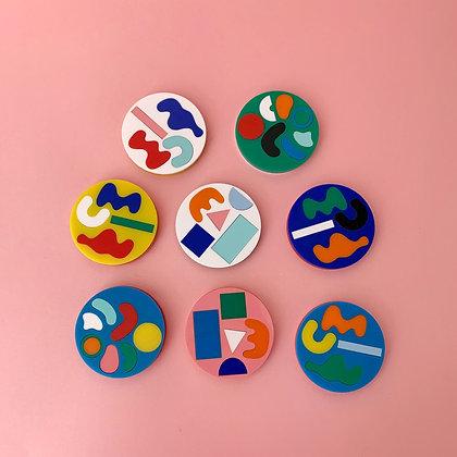 Mini Masterpiece Coasters