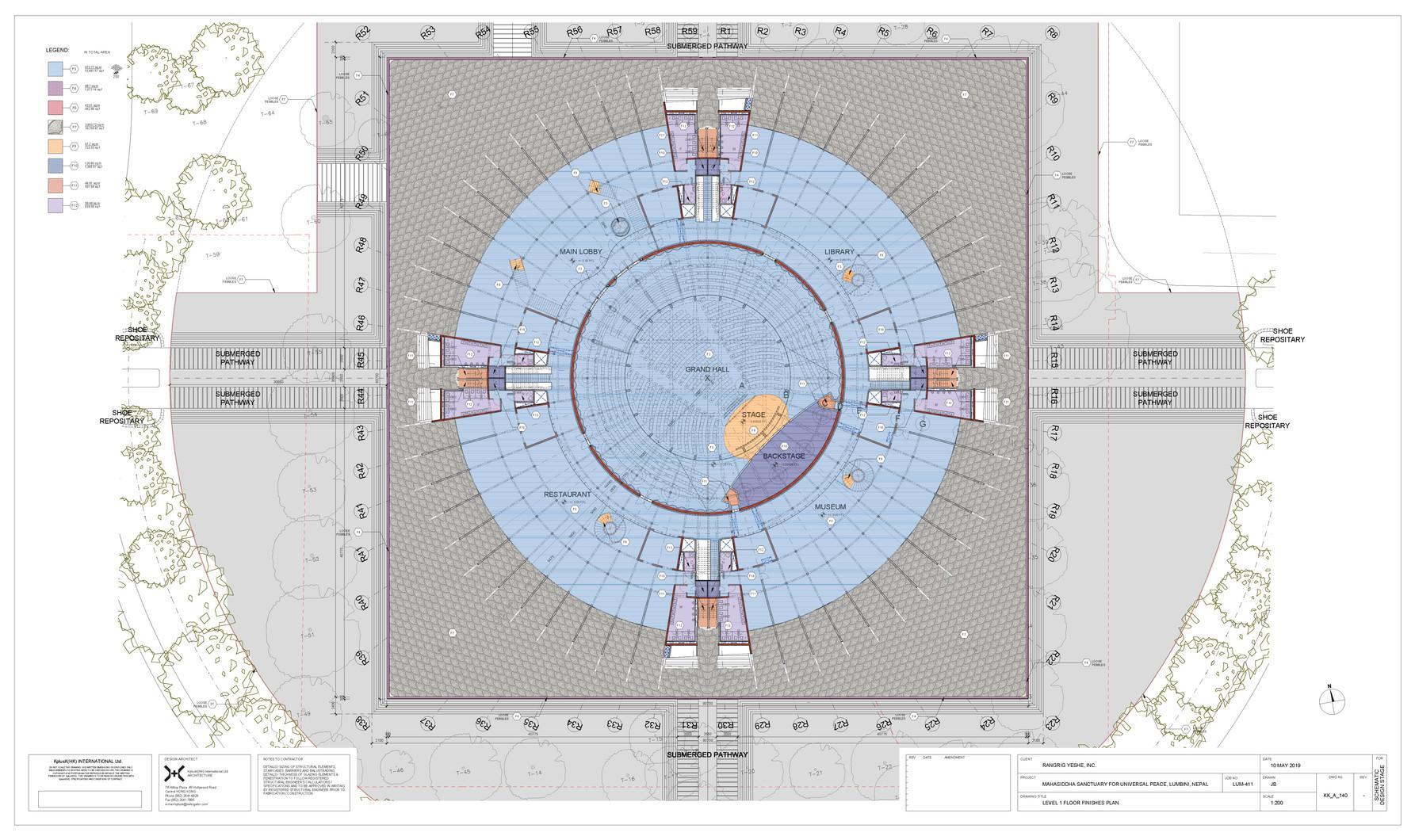 KK_A_140 - Level 1 Floor Finishes Plan.j