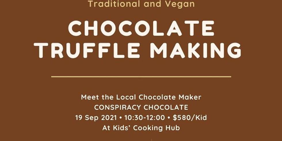 Chocolate Truffle Making for Kids