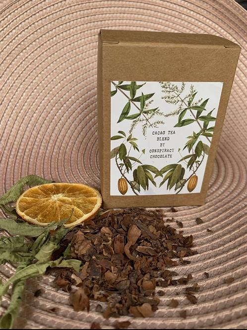 Cacao tea blend