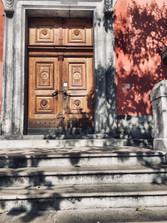 Schody františkánského kláštera