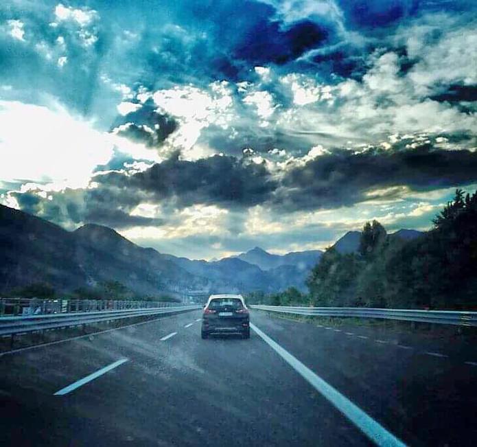 Rakouská dálnice