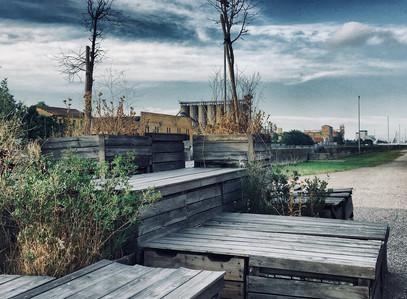 Opuštěná komunitní zahrada