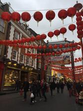 Čínská čtvrť v Londýně