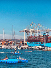 Koperský přístav a tak trochu jiná pláž